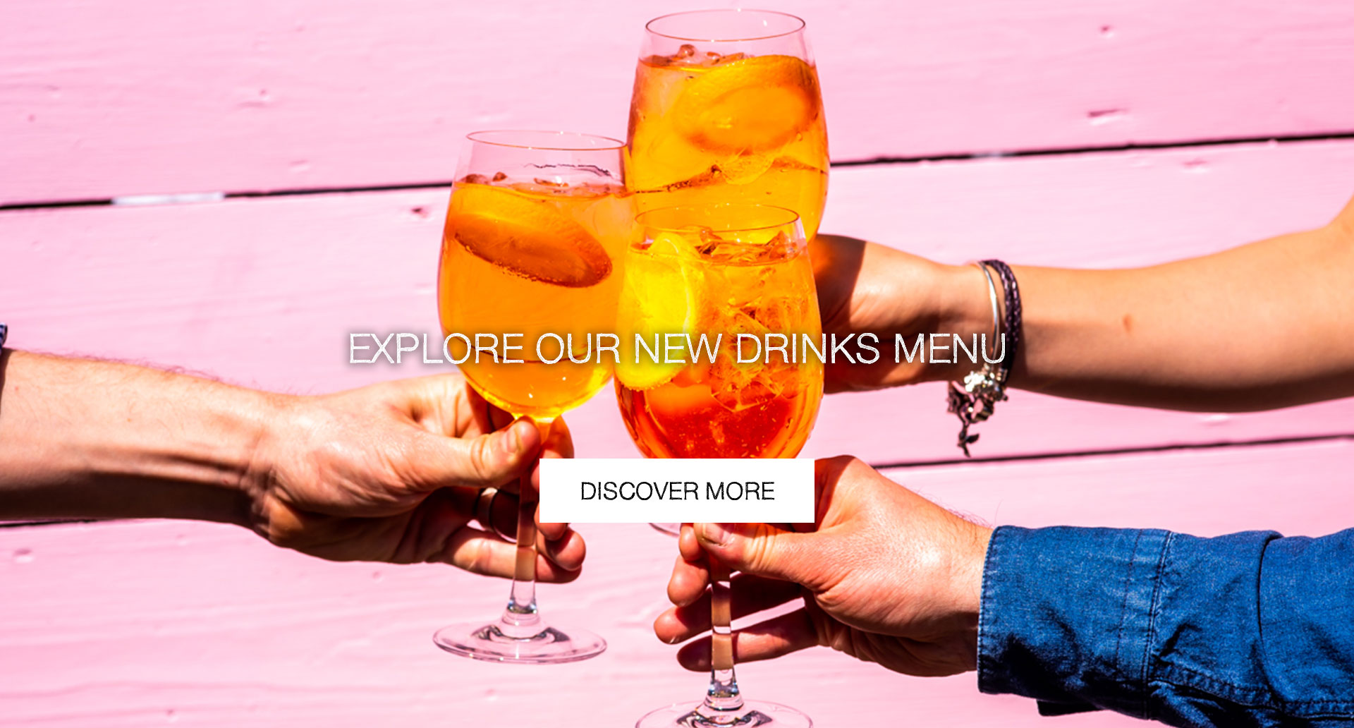 Our New Drinks Menu at The Cape Of Good Hope